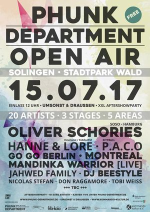 Phunk Department Open Air