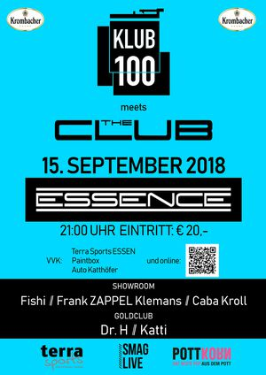 Klub100 meets THE CLUB